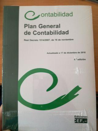 Plan General de Contabilidad a estrenar