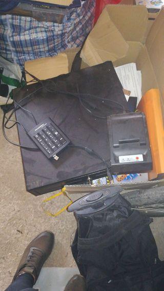 Cajon,impresora y teclado tpv