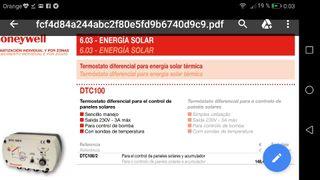 centralita solar