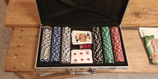 maletin juego de poker