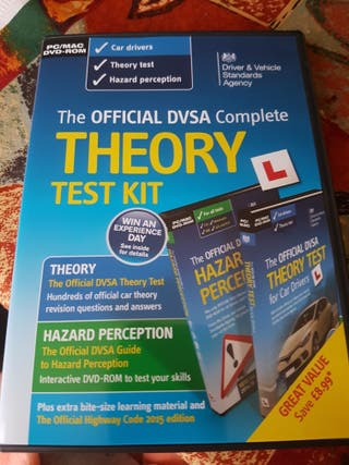 Theory test book & DVDs