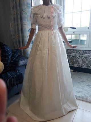 vestido de comunion Talla 9-10