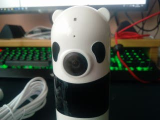 Cámara vigila bebes panda con app móvil [NUEVA]