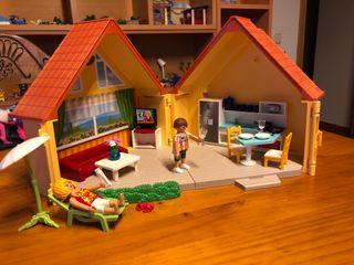 Maletin casa campo playmobil