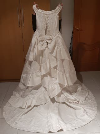 vestido de novia de segunda mano en manresa en wallapop