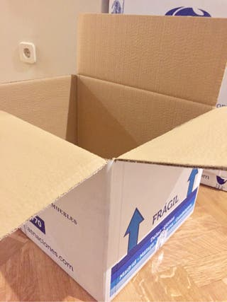 Cajas de cartón mudanza o almacén