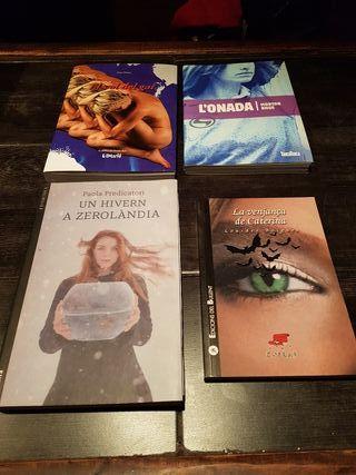 Libros en valenciano. A 5 euros la unidad.