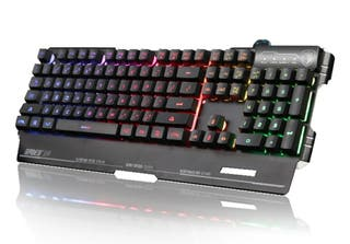 teclado gaming semi mecánico