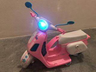 Moto Vespa Nancy con luz
