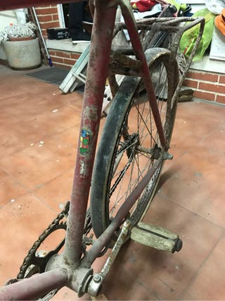 Bicicleta orbea cadete 1960
