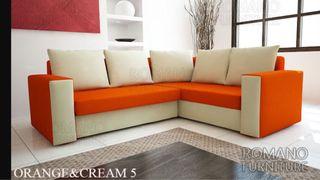 Corned sofa bed