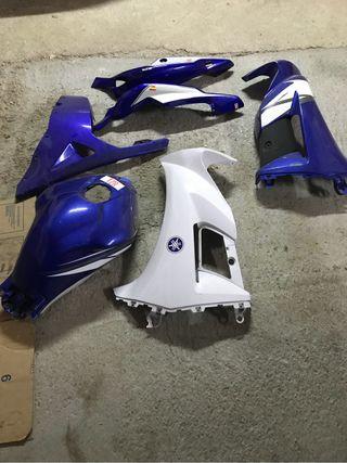 Carenado para la Yamaha te ZR 50