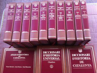 Enciclopedia D'història De Catalunya Edicions 62 12 Volums Mes 2 Diccionaris Mes Atles