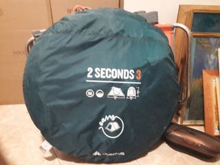 tienda quechua 3 personas