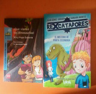 lote 2 libros niño 6-9 años
