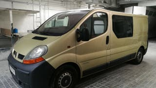 Renault Trafic 2005 camperizada con cama y calefac