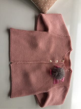 Chaqueta rosa y gris t 3