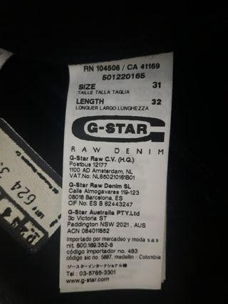 Pantalón G-STAR NUEVO