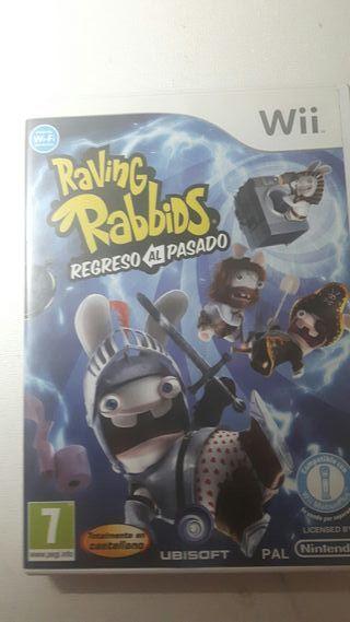 Raving Rabidds para la Wii