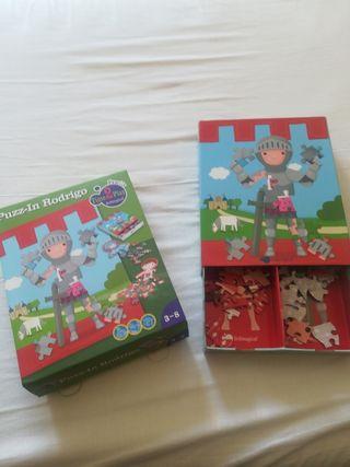 puzzle doble. imaginarium