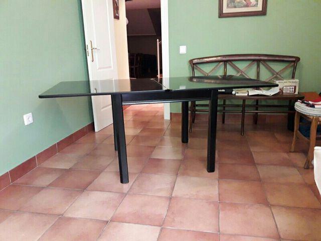 MESA PLEGABLE (salón/comedor) de segunda mano por 80 € en Ciudad ...