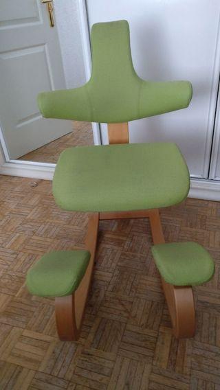 Silla ergonómica thatsit balans color verde