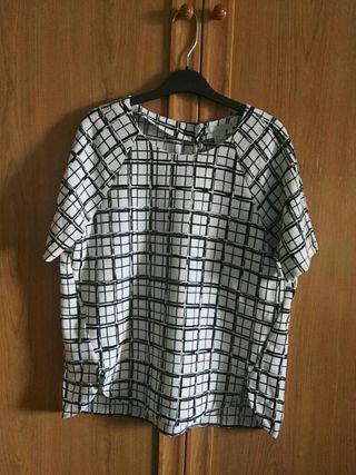 ce5e34abe8 Camisa Mujer De H Segunda Corta amp m 8 Por Mano Manga qraqnFwxA