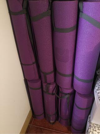 Colchonetas de yoga o gimnasia