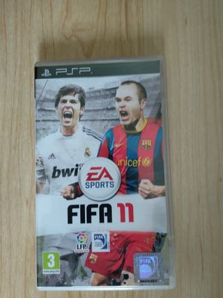 juego FIFA 11 PSP