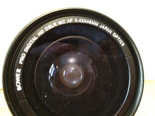 Lente x0,42 para objetivos de 58 mm