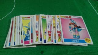 cartas dragon ball combat cards