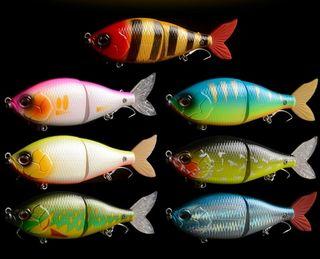 señuelos de pesca swimbait artificiales pesca