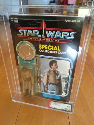 star wars vintage Lando General POTF AFA 85