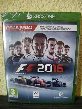 F1 2016 edición limitada xbox one f1