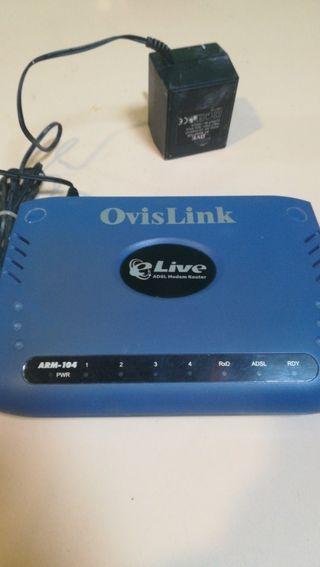 router adsl ovislink