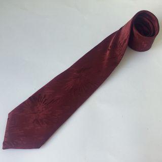 Corbata vintage Lanvin París de seda natural