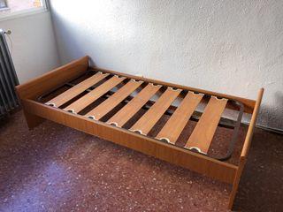 Estructura de cama nido y Somier 90cm ancho
