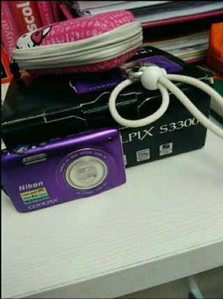 Cámara digital Nikon coolpix s3300