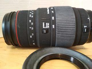 Teleobjetivo Sigma para Canon 70-300 APO DG Macro