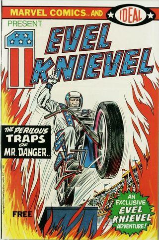 comics Evel Knievel 1974