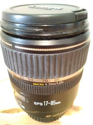 Objetivo Canon EF-S 17-85mm f/4-5.6 IS USM (Para r