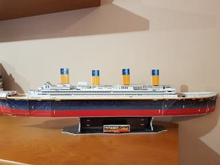 Maqueta Titanic.
