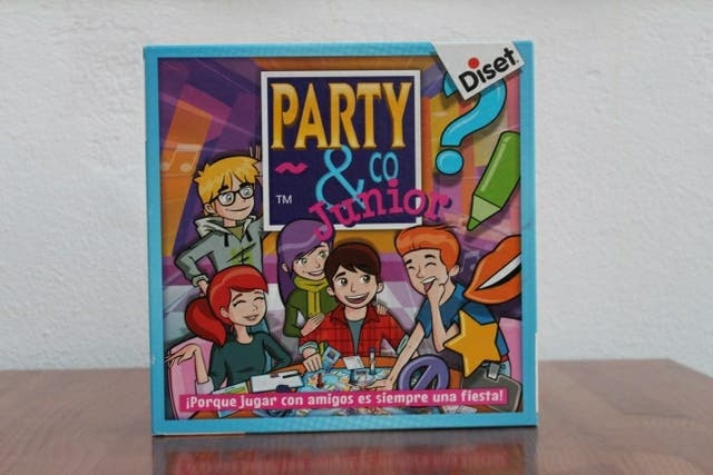 Juego De Mesa Party Amp Co Junior De Segunda Mano Por 8 En