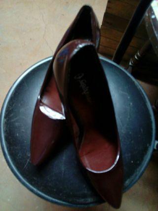 zapato marron chaarol