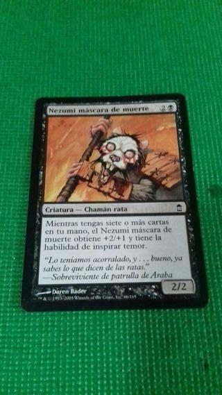 MTG nezumi mascara de muerte