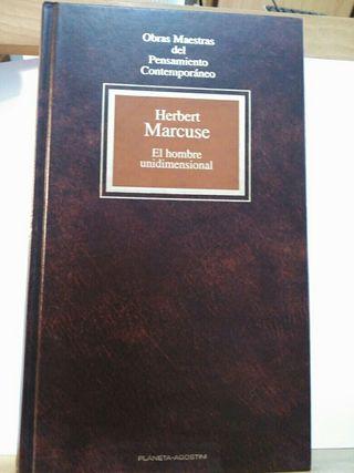 El hombre unidimensional. Marcuse.