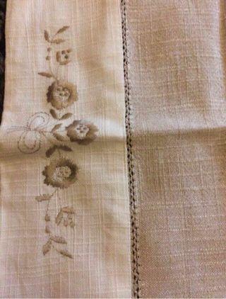 Mantel hilo de lino