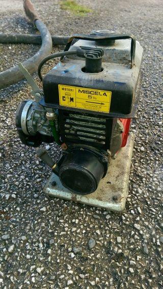 bomba de agua gasolina