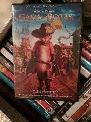 EL GATO CON BOTAS DVD