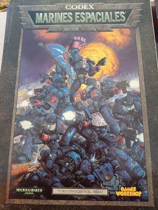 Warhammer 40K Codex Marines espaciales + ángeles